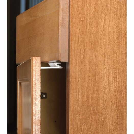 Parent Units Safe and Shut Deluxe Cabinet Latch