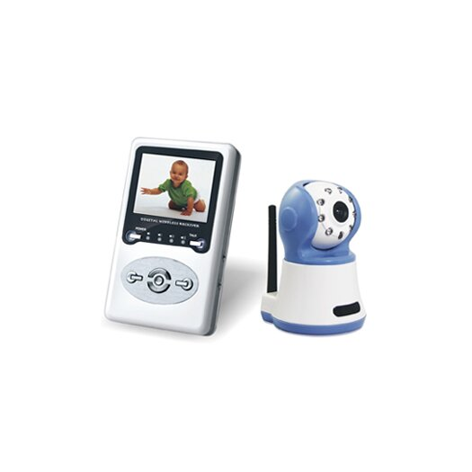 Parent Units Blue Eye Digital Wireless Baby Monitor