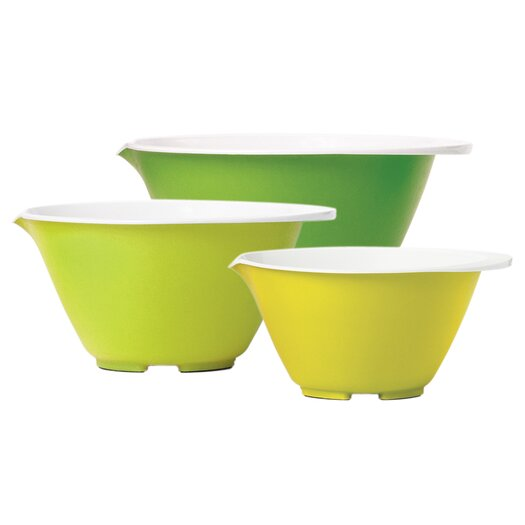 Chef'N Vibe 3 Piece Mixing Bowl Set