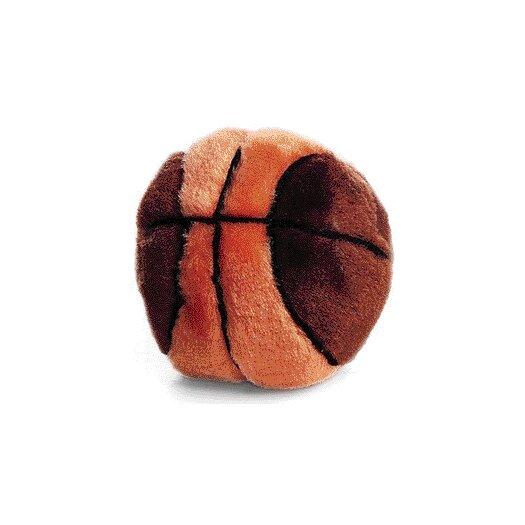 Ethical Pet Plush Basketball Dog Toy