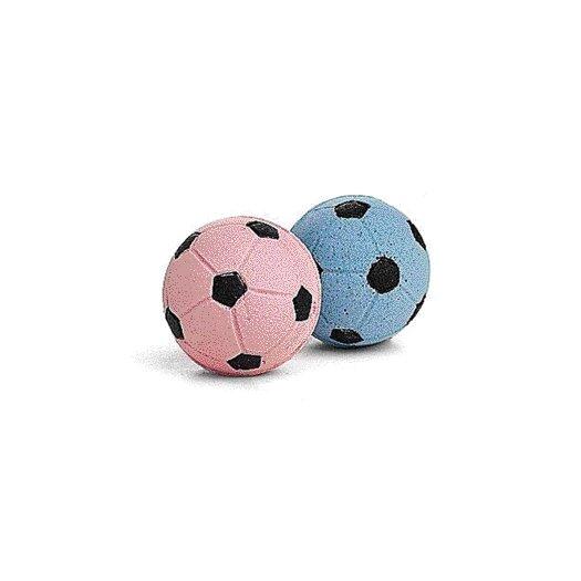 Ethical Pet Sponge Soccer Balls Cat Toy (4 Pack)