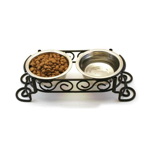 Ethical Pet Scroll Work Double Diner