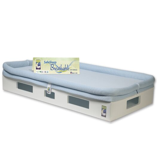 SafeSleep Breathable Crib Mattress