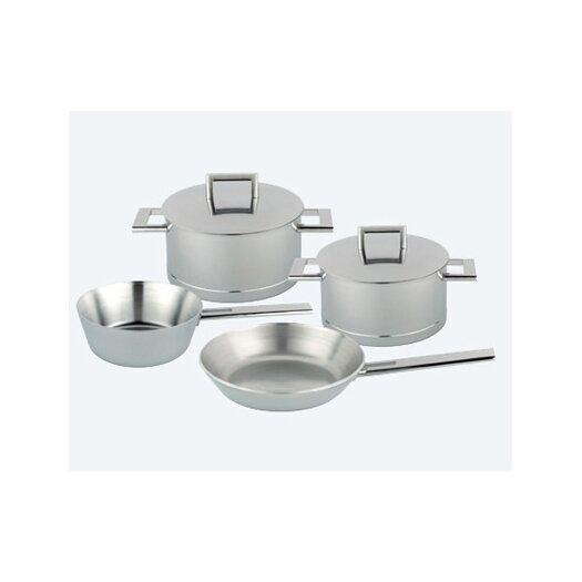 Demeyere John Pawson 7-Ply Stainless Steel 6-Piece Cookware Set