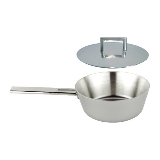 Demeyere John Pawson for Demeyere 2.1-qt Saute Pan with Lid