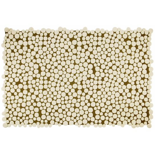Hand Tufted Champi�ones Ivory Geometric Area Rug