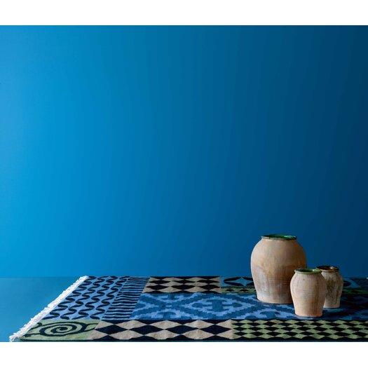 Gandia Blasco Kilim Siracusa Blue Ikat Area Rug