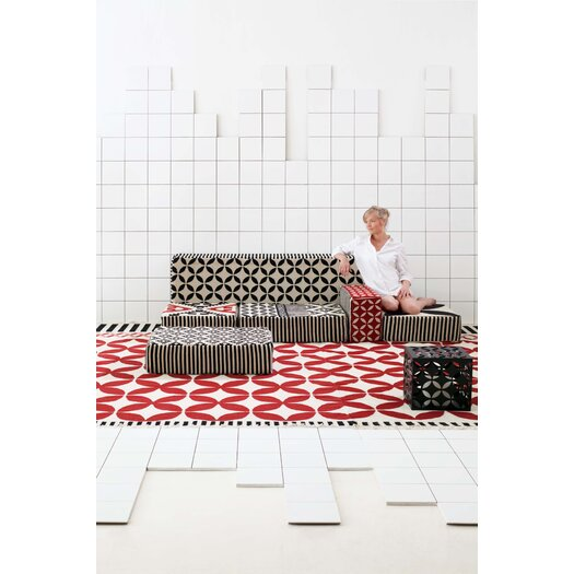 Gandia Blasco Gan Spaces Módulo A2 Modular Wool Cushion