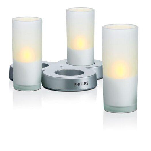 Philips Consumer Luminaire Three Light Candle Light in White