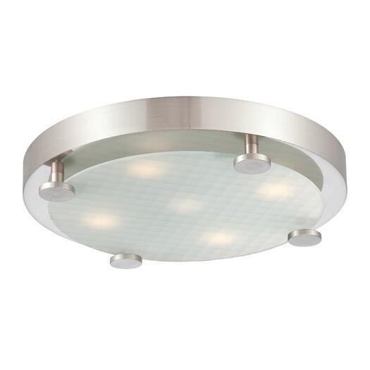 Philips Consumer Luminaire Flush 4 Light Ceiling Lamp