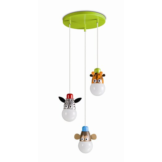Philips Consumer Luminaire Kidsplace 3 Light Pendant