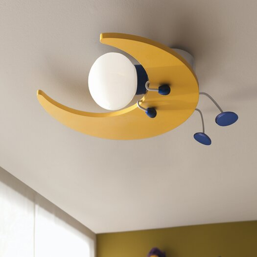 Philips Consumer Luminaire Kidsplace 1 Light Ceiling Lamp