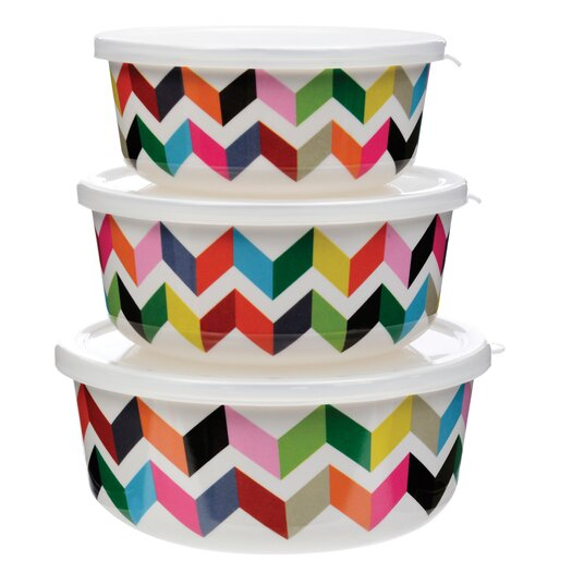 Ziggy 3-Piece Storage Container Set