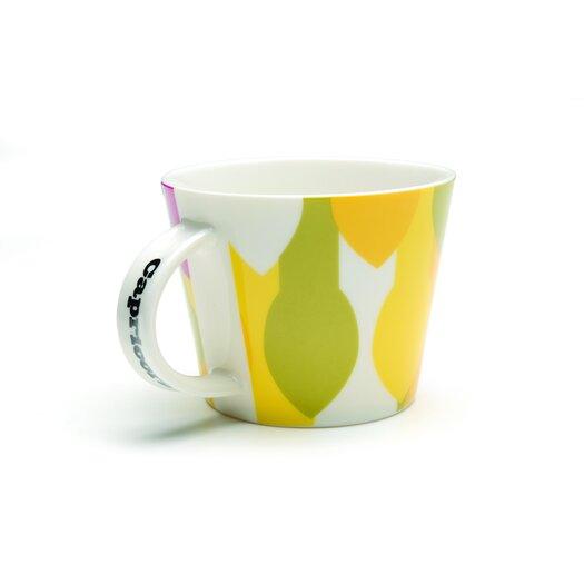 French Bull Capricorn Porcelain Mug