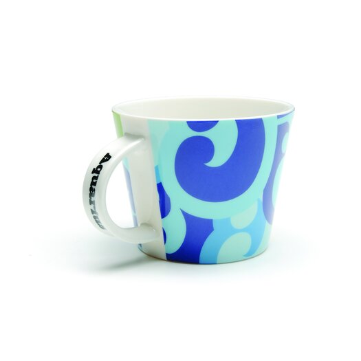 French Bull Aquarius Porcelain Mug