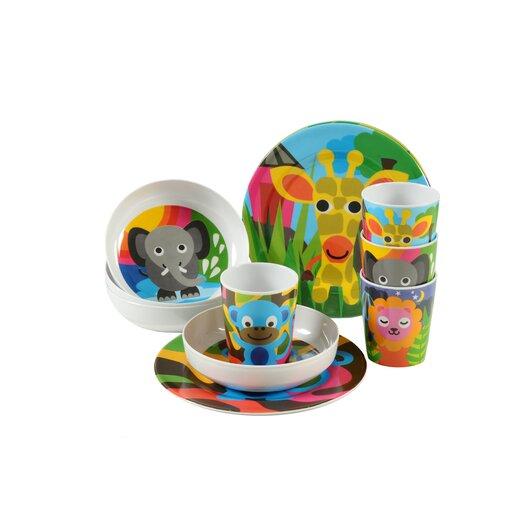 French Bull Jungle Kids Bowls