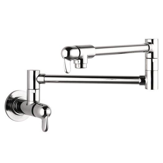 Hansgrohe Allegro E Two Handle Wall Mounted Pot Filler Faucet