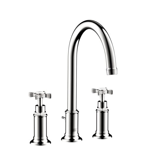 Hansgrohe Axor Montreux Widespread Faucet with Cross Handle