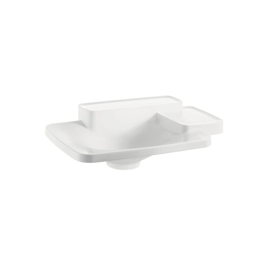 Hansgrohe Axor Bouroullec Small Drop In Bathroom Sink with Two Shelves