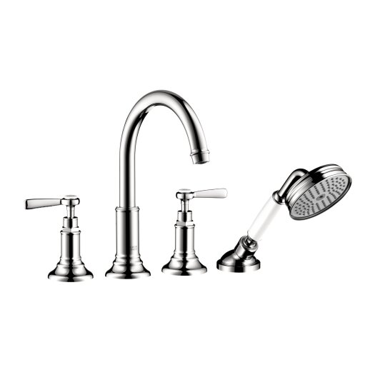 Hansgrohe Axor Montreux 4 Hole Roman Tub Faucet with Lever Handle
