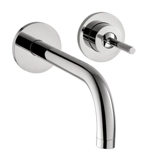 Hansgrohe Axor Uno Wall Mounted Bathroom Faucet with Single Handle