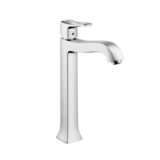 Hansgrohe Metris C Highriser Single Hole Bathroom Faucet with Single Handle