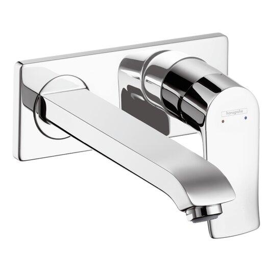 Hansgrohe Metris E Single Handle Wall Mounted Faucet