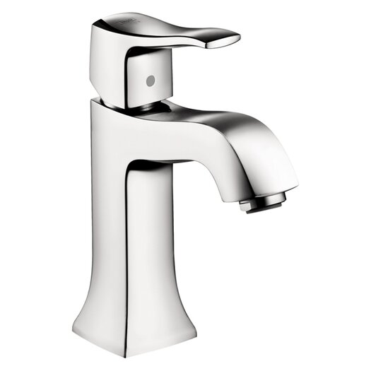 Hansgrohe Metris C Single Hole Bathroom Faucet with Single Lever Handle