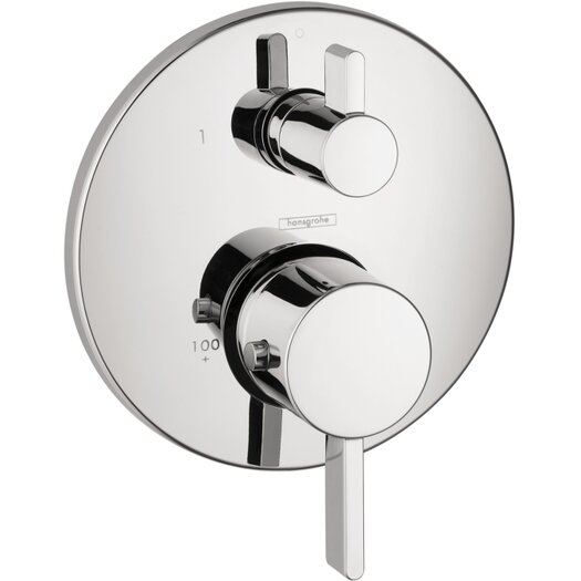 Hansgrohe S Thermostatic Shower Trim with Volume Control