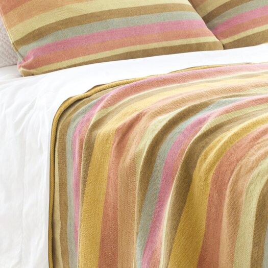 Pine Cone Hill Montego Stripe Chenille Cotton Blanket