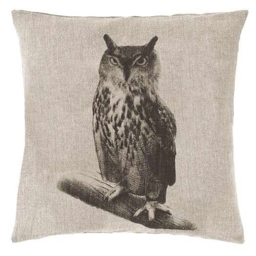 Pine Cone Hill Hoot Decorative Pillow