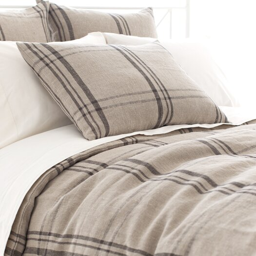 Pine Cone Hill Farmhouse Linen Duvet Cover