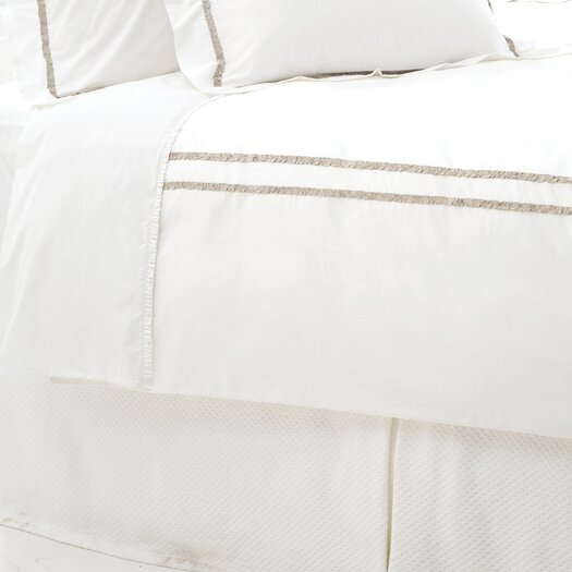 Pine Cone Hill Ruched 400 Thread Count  Duvet Cover