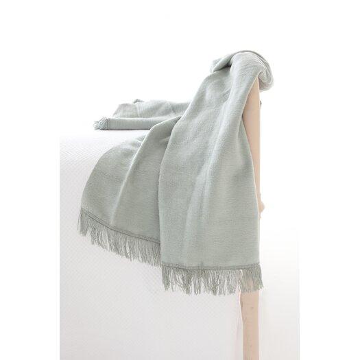 Pine Cone Hill Windsor Fleece Fringed Cotton Throw