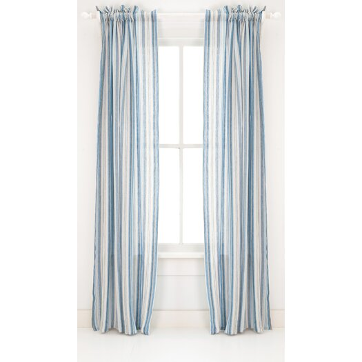 Pine Cone Hill Honfleur Linen Rod Pocket Curtain Panel