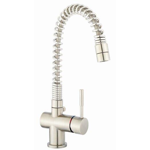 Franke Single Handle Single Hole Arc Spout Kitchen Faucet
