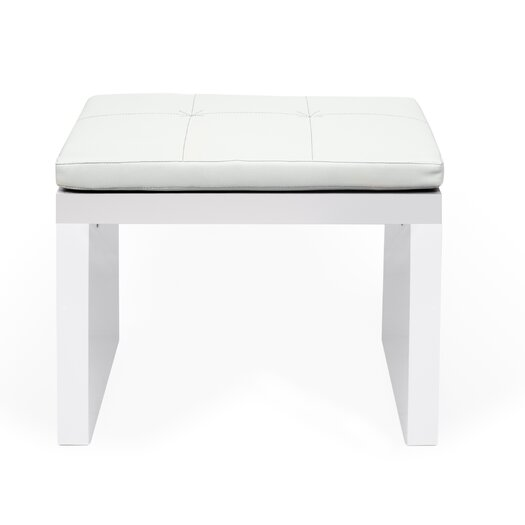 Float Wood Kitchen Bench with Cushion