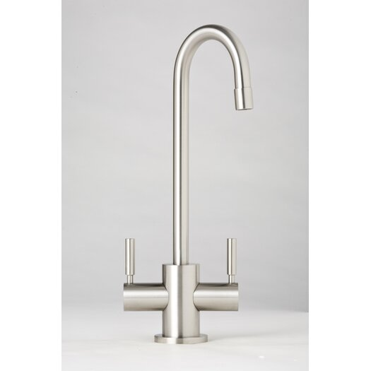 Waterstone Parche Two Handle Single Hole Bar Faucet with Lever Handle