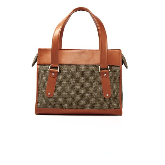 Hartmann Tweed Belting Classic Leather Business Briefcase