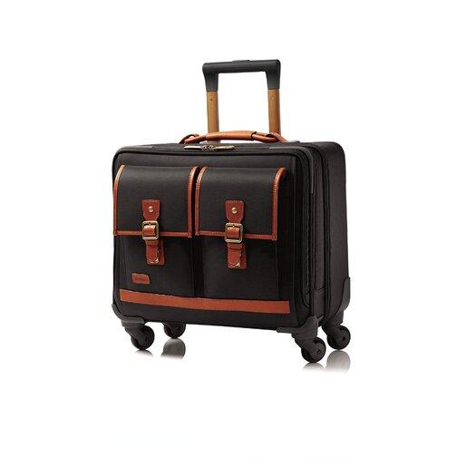 "Hartmann Hudson Belting 13"" Spinner Suitcase"