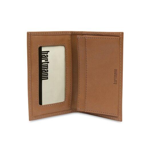 Hartmann J Hartmann Reserve Gusseted Card Case in Natural