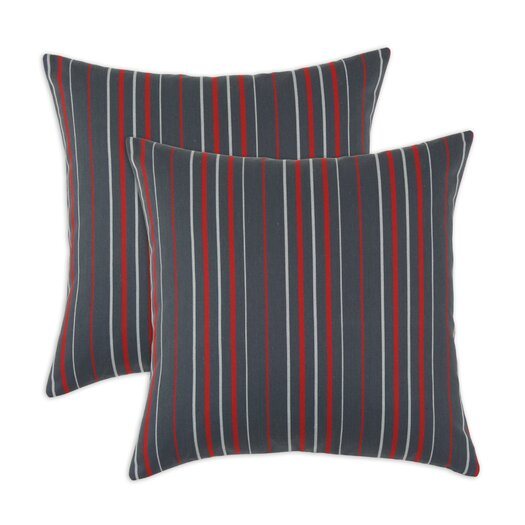 Chooty & Co Multi Stripe Self Backed Fiber Pillow