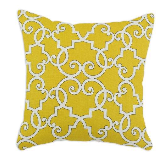 Chooty & Co Woburn Sunflower Self Backed Corded Fiber Pillow