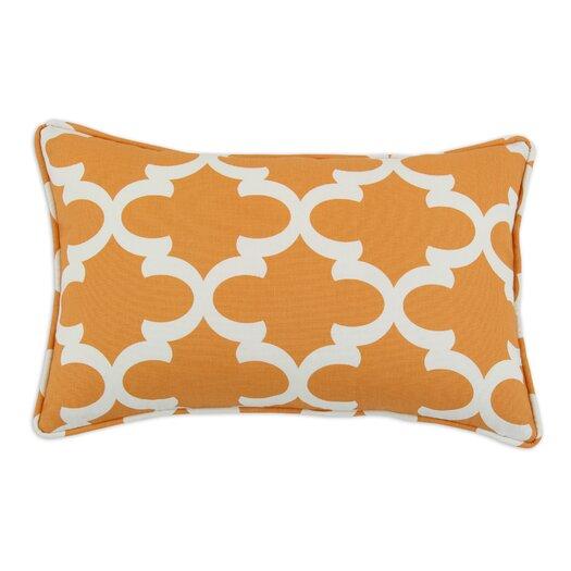 Chooty & Co Fynn Cinnamon Macon Self Backed Corded Fiber Pillow