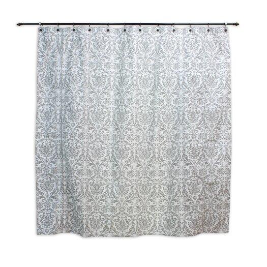 Chooty & Co Abigail Twill Cotton Shower Curtain