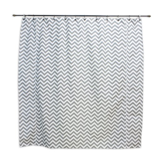 Chooty & Co Zig Zag Shower Curtain