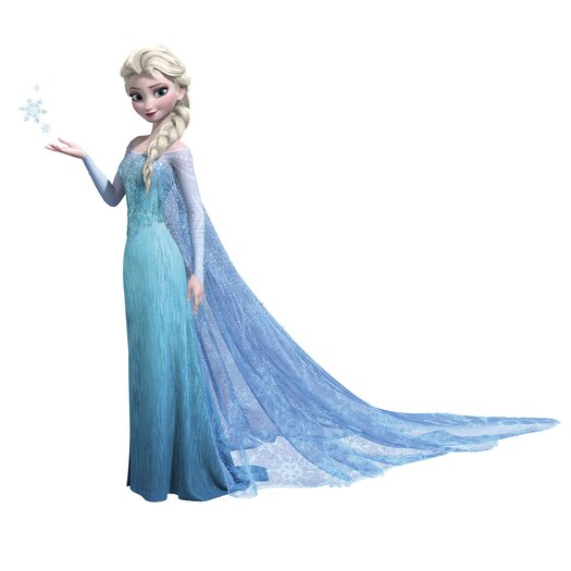 Room Mates Frozen Elsa Giant Wall Decal Set