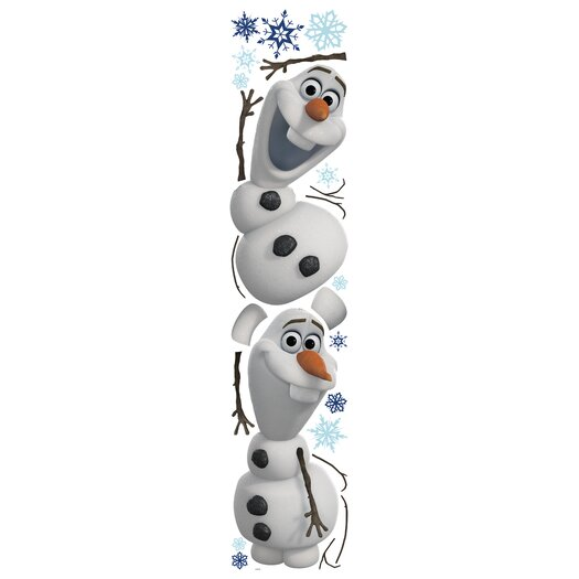 Room Mates Frozen Olaf The Snowman Wall Decal Set