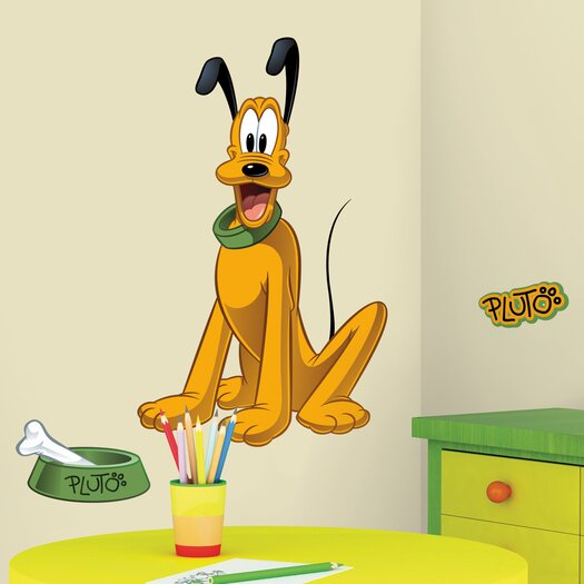 Room Mates Licensed Designs Pluto Wall Decal