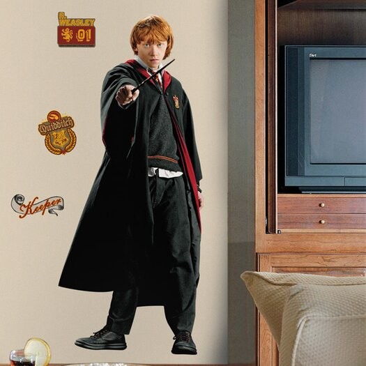 Room Mates Licensed Designs Ron (HP) Wall Decal